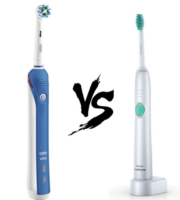 Oral-B VS Sonicare