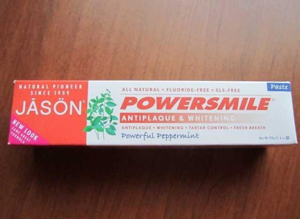 Зубная паста Jason Natural PowerSmile Antiplaque