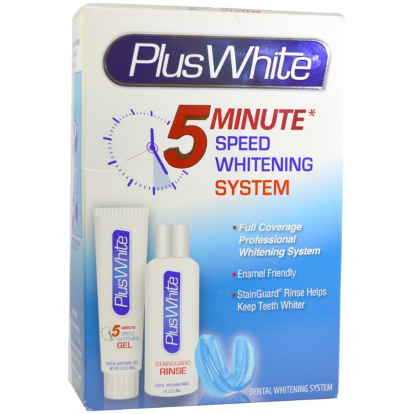 Plus White 5 Minute Bleach Whitening Gel
