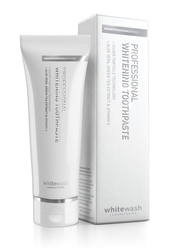 «WhiteWash Professional Whitening Toothpaste With Silver Particles»