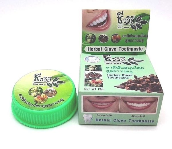 «Herbal Clove Toothpaste»