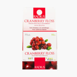 Floss Vegan Xylitol Cranberry